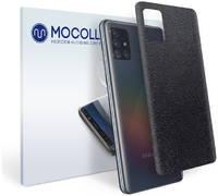 Пленка защитная MOCOLL для задней панели Samsung GALAXY M31 кожа черная