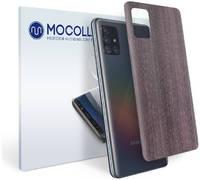 Пленка защитная MOCOLL для задней панели Samsung GALAXY A10 Дерево Венге