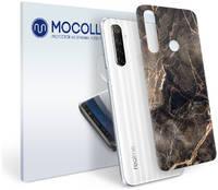 Пленка защитная MOCOLL для задней панели REALME C11 Камень Мрамор Черный