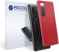 Пленка защитная MOCOLL для задней панели OPPO A11 кожа коричневая