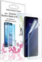 LuxCase Защитная пленка для Xiaomi Redmi Note 9 Pro На экран и заднюю поверхность/86087