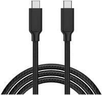 Кабель USB Type-C - USB Type-C GSMIN A29 с поддержкой PD в оплетке (1м) (Черный) Кабель USB Type-C - USB Type-C GSMIN A29 с поддержкой PD в оплетке (1м) (Красный)