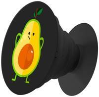 Пластмассовый держатель Krutoff для телефона Попсокет Авокадо недоумевающий