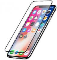 Glass PRO Защитное 3D стекло для iPhone XR противоударное / закругленные края (Черный)