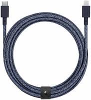 Кабель Native Union Belt (BELT-CL-IND-3-NP) USB-C to Lightning 3m (Indigo)