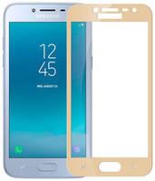 Защитное стекло Glass King 2.5D для Samsung Galaxy J2 18 Золотой