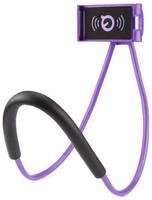 Markethot Универсальный держатель для смартфона на шею (Цвет: Сиреневый )