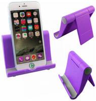 Markethot Пластиковый держатель для смартфона и планшета (Цвет: Сиреневый )