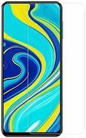 INAKS Защитное стекло (без рамки) Full Glue для Xiaomi Redmi Note 9 Pro, прозрачное