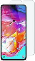 INAKS Защитное стекло (без рамки) Full Glue для Samsung Galaxy A70, прозрачное
