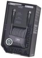 Кабель usb Hardiz Lifeproof 1,8 м Black