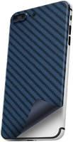 Пленка защитная гидрогелевая Krutoff для iPhone XS задняя сторона (карбон синий)