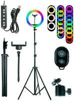 Lovely. Кольцевая лампа Lovely MJ26, 26 см, RGB LED Soft ring light MJ26