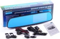 VIZANT Видеорегистратор двухканальный Elect HD GPS информер