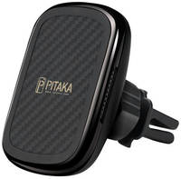 Автомобильный держатель Pitaka New MagMount QI Car Vent CM3001Q (Gun Metal)