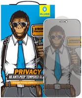 Защитное стекло Blueo 2.5D Silk Full Cover Anti-Peep (NPB14-5.4) для iPhone 12 mini Black