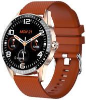 Smart Watch Умные смарт-часы Smart Sports Watch Y20 (Коричнево/черные)