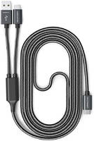 Кабель RAVPower USB-C to USB/USB-C 1 м, цвет Черный (RP-TPC006)