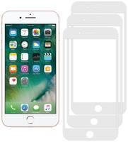 Комплект из 3х стекол Krutoff для iPhone 7 Plus/8 Plus белое