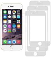Комплект из 3х стекол Krutoff для iPhone 6 Plus/6S Plus белое