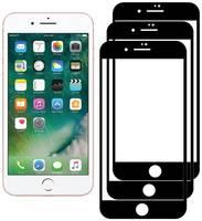 Комплект из 3х стекол Krutoff для iPhone 7 Plus/8 Plus черное