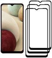 Комплект из 3х стекол Krutoff для Samsung Galaxy A12 / M12