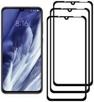 Комплект из 3х стекол Krutoff для Xiaomi Mi 9/Mi 9 Pro 5G черное