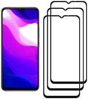 Комплект из 3х стекол Krutoff для Xiaomi Mi 10 Lite черное