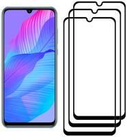 Комплект из 3х стекол Krutoff для Huawei Y8p /P Smart S / Honor Play 4T Pro / Honor 30i
