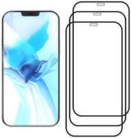 Комплект из 3х стекол Krutoff для iPhone 12/12 Pro (6.1″) черное