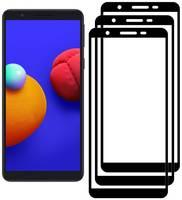 Комплект из 3х стекол Krutoff для Samsung Galaxy A01 Core / M01 Core