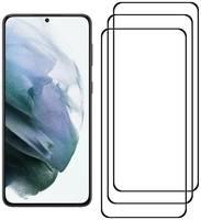 Комплект из 3х стекол Krutoff для Samsung Galaxy S21+ 5G черное
