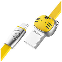 Кабель Rock MicroUSB (Chinese Zodiac) 1m (Tiger-Yellow)