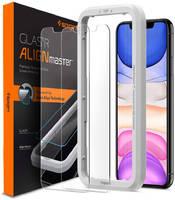 Защитное стекло Spigen Align Glas.tR 2 pack (AGL00101) для iPhone 11/XR (Clear)