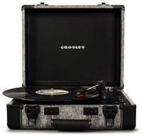 CROSLEY Проигрыватель виниловых пластинок Executive Portable Smoke