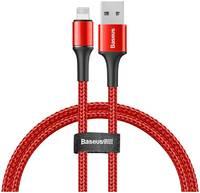 Кабель Baseus Halo Data Cable USB - Lightning 2,4A 1м Red (CALGH-В09)