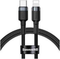 Кабель Baseus Cafule Cable USB Type-C - Lightning 1м Black/Grey