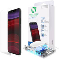 Защитное стекло Whitestone Dome с UV-лампой (8809365403851) для iPhone 11/XR (Clear)