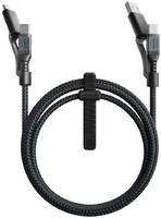 Кабель Nomad Universal Kevlar USB-C/USB-A/microUSB 1.5m (NM0191C090)