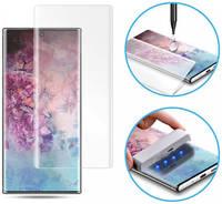 Защитное стекло Epik Nanoscarle Light full glue c УФ лампой для Samsung Galaxy Note 10