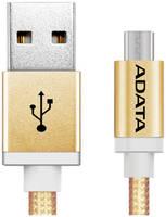 Кабель Adata microUSB 1м Gold microUSB-USB 1m Gold (AMUCAL-100CMK-CGD)