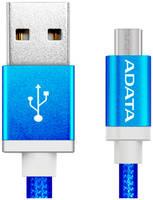 Кабель Adata microUSB 1м Blue microUSB-USB 1m Blue (AMUCAL-100CMK-CBL)