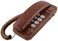 Телефон проводной teXet TX-226 Marble