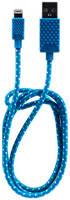 Кабель QUMO AP300 Lightning 1м Blue AP300 Blue