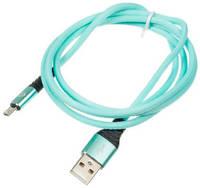 Кабель Digma USB A(m)-micro USB B (m) 1.2м Light Blue