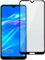 Защитное стекло LuxCase для Huawei Y7 2019 Black 2.5D для Huawei Y7 2019 Black