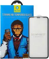 Защитное стекло Blueo Silk Full Cover HD Glass для Huawei P smart 2019 Black Frame 2.5D Silk Full Cover HD Glass для Huawei P smart 2019 Black Frame