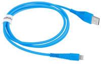 Кабель Momax Tough link Lightning Blue