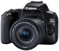 Фотоаппарат зеркальный Canon EOS 250D 18-55mm + Bag SB130 EOS 250D 18-55mm + SB130
