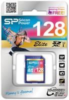Карта памяти Silicon Power SDXC Elite 128GB